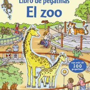 libro pegatinas el zoo