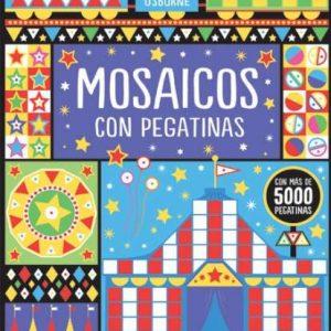 libro de pegatinas mosaicos