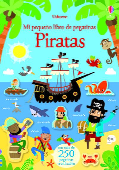libro de pegatinas piratas