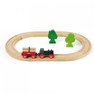 circuito tren de madera brio