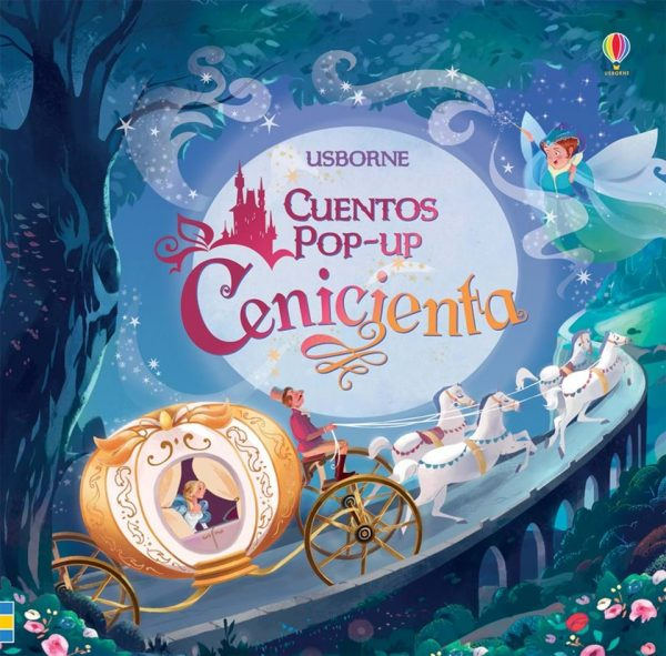cuento cenicienta pop up