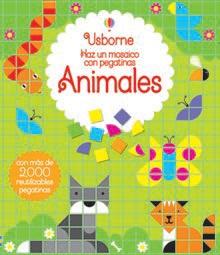 Libro pegatinas mosaicos animales