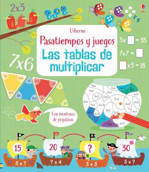libro tablas de multiplicar