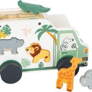 camión para encajar safari