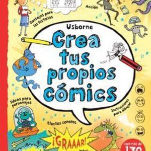 Libro crea tus propios comics