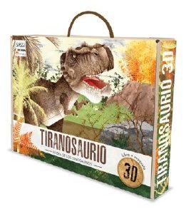 la era de los dinosaurios. Tiranosaurio.