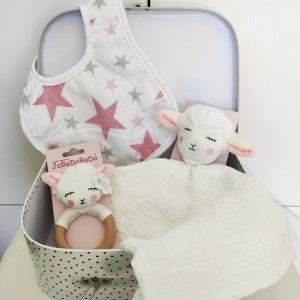 cesta bebé oveja