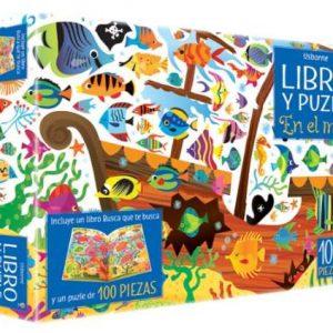 libro puzzle en el mar
