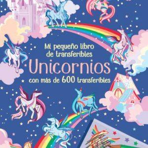 libro de transferibles unicornios