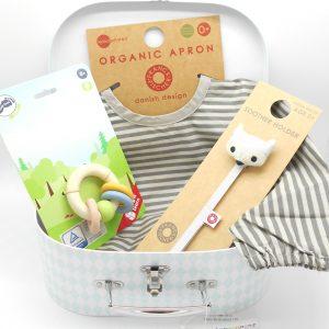 cesta bebé de algodón orgánico