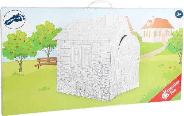 casa grande de cartón