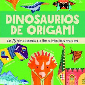 dinosaurios de origami