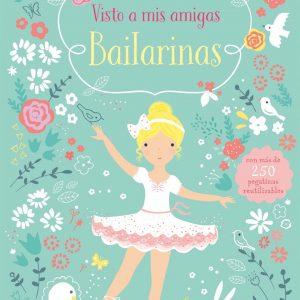 libro pegatinas bailarinas