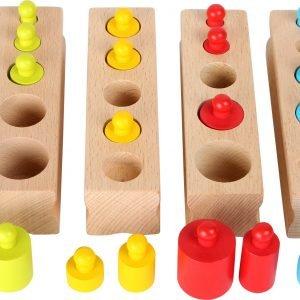 juego encajar montessori