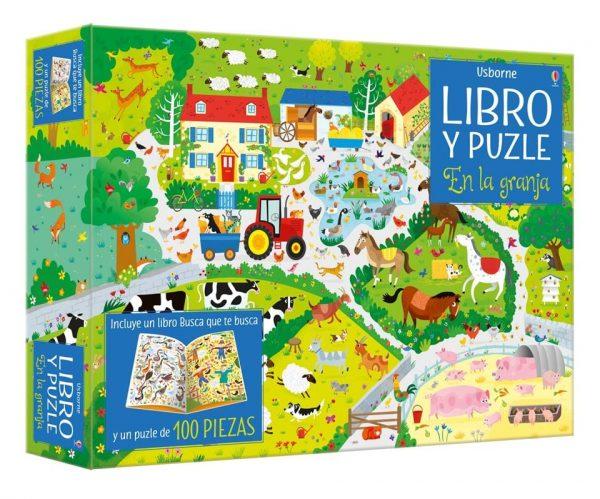 Libro puzzle en la granja