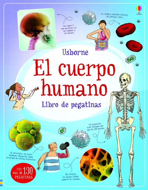 libro pegatinas el cuerpo humano