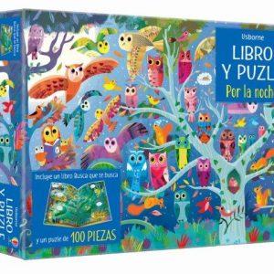 libro puzzle por la noche