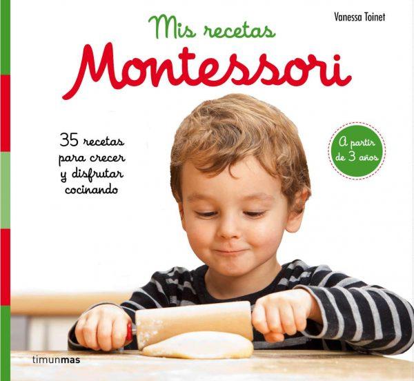 Libro mis recetas montessori
