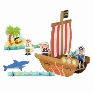 figuras piratas 3D