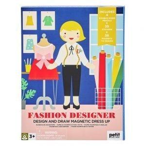 juego magnetico diseñadora de moda