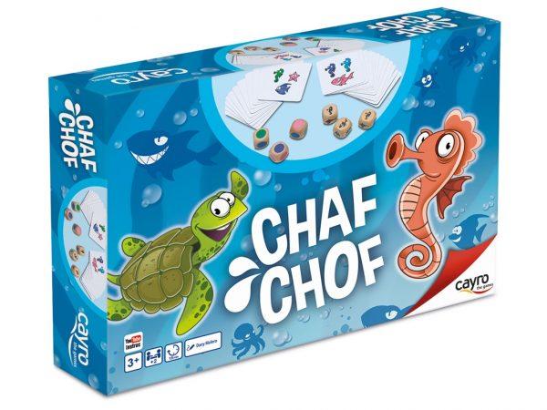juego para niños chaf chof