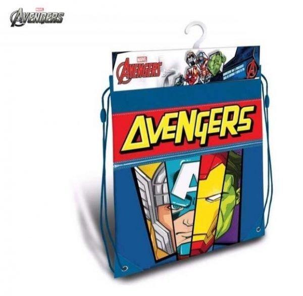 saco mochila gymbag avengers