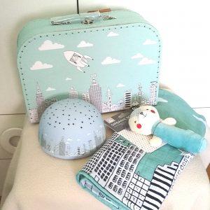 cesta para bebé ciudad