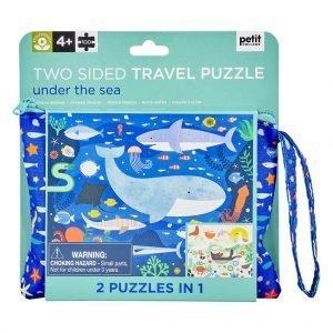 puzzle 2 en 1 en el mar