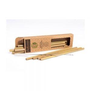 pajitas de beber de bambú