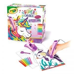 super ceraboli unicornio de crayola
