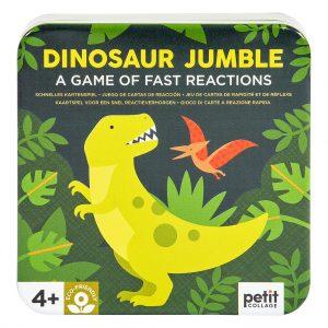juego cartas dinosaurio jumble