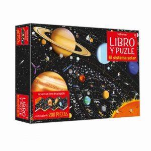 libro puzzle el sistema solar
