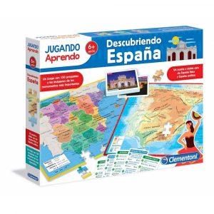 puzzle juego descubriendo España